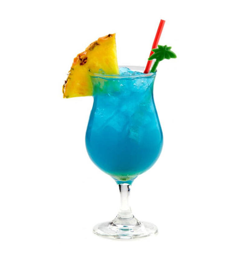 Blue cocktail  Blue Hawaii Cocktail Recipe - ShakeThat
