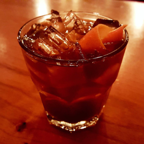 Ginger Molasses Old Fashioned