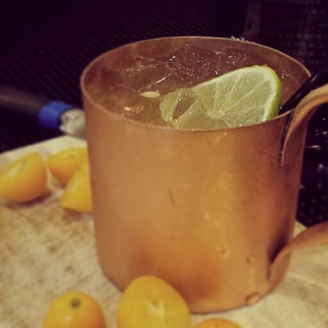 Genever Kumquat Mule