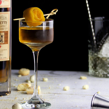 Biscotti Dessert Cocktail